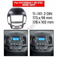 Car Stereo Radio Fascia Panel Plate Frame for 2008-2011 HYUNDAI I-30 MANUAL AC