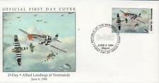 Marshall Islands 1994 D-Day Allied Landings at Normandy FDC
