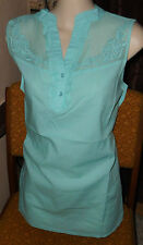 schöne  Bluse  in Gr 40  Cheer  mint luftig Sommer  Shirtbluse