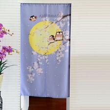 Purple Noren Doorway Curtain Room Door Pub Hanging Curtains Divider Tapestry NEW