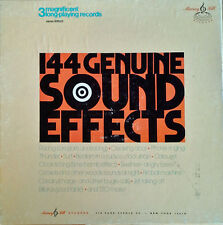 144 GENUINE SOUND EFFECTS - MURRAY HILL - (3) LP BOX SET - STEREO PRESSING