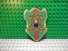 Lego mini figure 1 Castle knight paper shield large with monkey Rascus