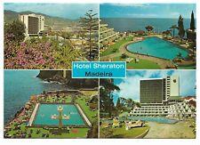 Postcard - Hotel Sheraton, Funchal, Madeira  Multiview 953A
