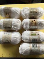Yarn Bernat Cashmere Acrylic/Nylon/Cashmere 65/30/5 J 103yd 2oz 60gr Color Snow