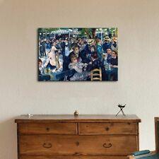 "Bal du moulin de la Galette by Pierre Auguste Renoir Giclee Canvas - 32"" x 48"""
