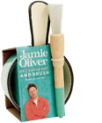 Jamie Oliver Enamelled Cast Iron BBQ Sauce Pot with Brush