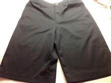 Under Armour Boys Youth Black Performance Shorts Size 16