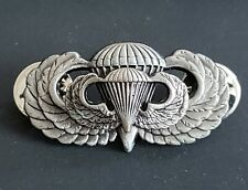 Airborne Jump Wing Badge with Mini US Army Parachutist Pin Military Insignia