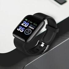 Watch Smart Hand Clok Men Women Heart Rate Blood Pressure Meter WaterProof Gift