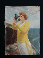MOTOR BOATING MAGAZINE JANUARY 1922 YACHTING OUTBOARD ARTICLES VINTAGE ADS