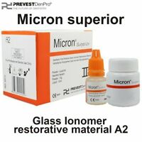 Permanent Dental Cement Glass Ionomer Restorative Cavity Tooth Filling Micron