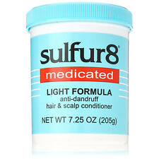 [SULFUR8] MEDICATED LIGHT FORMULA ANTI-DANDRUFF HAIR & SCALP CONDITIONER 7.25OZ