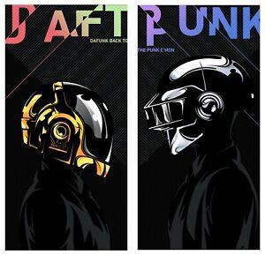 "Daft Punk Thomas and Guy-Man Limited Giclee Print Art Poster #30 2 12"" x 24"""