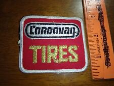 CORDAVAN TIRES AUTOMOBILE TIRE ADVERTISEMENT PATCH FORD CHEVY GMC   BX E # 35