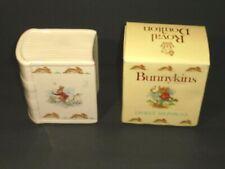 Vintage Royal Doulton Bunnykins Savings Book Piggy Bank Porcelain with Box