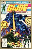 G.I. Joe A Real American Hero #3-1982 fn- 5.5 Marvel GI Joe / Herb Trimpe 1st