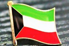 KUWAIT Kuwaiti Metal Flag Lapel Pin Badge *NEW*