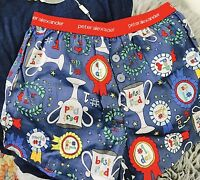 PETER ALEXANDER BOYS MEN BOXER SHORTS BEST DAD PRINT COTTON NWT SZ S