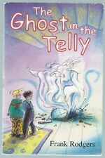 The Ghost In The Telly Frank Rodgers Young Hippo 1999 Paperback Good Condition