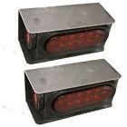 LED Trailer Truck Steel Housing Box w/ 6