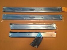 61-64 DOOR SILL SCUFF PLATES, 4dr BUICK ELECTRA, OLDSMOBILE 98, CADILLAC 4 DOOR