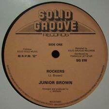 "Junior Brown(12"" Vinyl)Rockers-Solid Groove-SG 010-France-Ex/G"