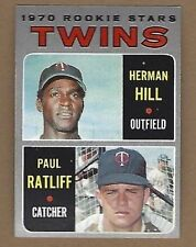 1970 TOPPS TWINS ROOKIE STARS BASEBALL CARD #267 EX FREE SHIPPING