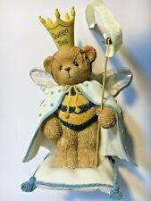 """Very Rare Cherished Teddies 107071 """"I Am The Queen Bee"""" Wings Staff Crown Nib 4"""