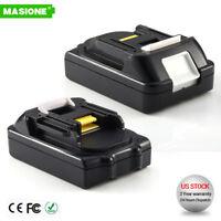 2x 18V BL1815 Lithium Battery For Makita BL1830 BL1840 LXT 18 Volt  Compact Tool