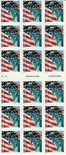 LADY LIBERTY AND FIRST CLASS U S FLAG STAMP BOOKLET-- USA #3975 FIRST CLASS FLAG