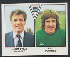 Panini Football 1980 STICKER Nº 506-Lyall/Parkes-West Ham United (S392)