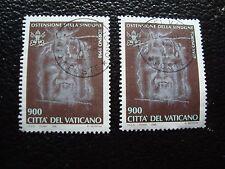 VATICANO - sello yvert y tellier nº 1106 x2 matasellados (A28) stamp