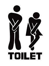 Toilet, Retro Vintage Metal Sign, Bathroom, Funny