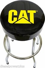 cat caterpillar semi truck motor tractor Bar Stool chair shop bench garage car 1