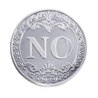 YES OR NO Decision Coin Embossed Ornaments Commemorative Collections Gifts