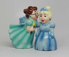 Salt & Pepper Shakers Set - FAIRY TALES New Ceramic Kitchen Gifts 9482