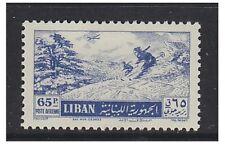 Lebanon - 1955, 65p Air stamp - V/L/M - SG 525