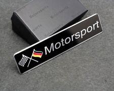 Rectangle Metal Emblem Badge Sticker Germany Sport Racing Motorsport For MK3 5 6