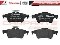 BREMBO GENUINE ORIGINAL PREMIUM BRAKE PADS PAD SET REAR AXLE P59042