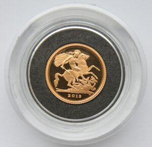 2013 Quarter Sovereign Gold Proof