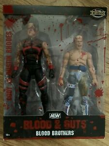 AEW Blood & Guts Blood Brothers Ringside Exclusive Cody & Dustin Rhodes