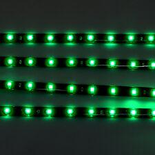 4 PCS 12V 30cm 1FT 15SMD Flexible LED Strip Light Waterproof For Car Truck Boat