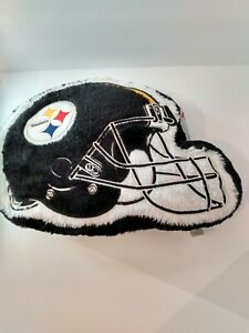 New Officially Licensed NFL Pittsburgh Steelers Team Helmet Pillow Couch Bed