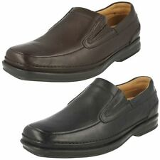 Clarks Leather Casual Loafers & Slip Ons for Men