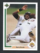 Barry Bonds 1991 Upper Deck Card #154; NM-Mint; Pittsburgh Pirates