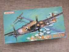 DRAGON 5016 - P61A BLACK WIDOW - 1/72 SCALE MODEL KIT - NO DECALS