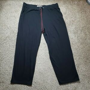 Tommy Bahama Mens Casual Lounge Pants Black Size XL Extra Large