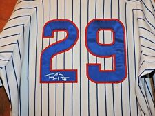 Daytona Cubs Pinstripe Game Used Autographed Tony Campana #29 Jersey ChicagoCubs