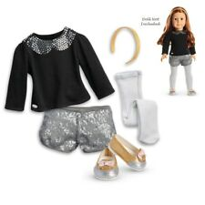 "American Girl TRULY ME SPARKLE SPOTLIGHT OUTFIT for 18"" Dolls Clothes Shoes NEW"