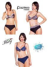 Maillot de Bain Femme Bikini 2 Pièces Avec Tasse Ou Armature Made IN Italy